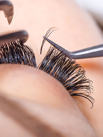 Wimpernlifting Close-up